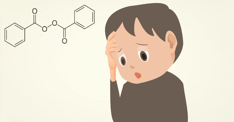 過酸化ベンゾイルとサリチル酸配合のニキビ製品のリスク